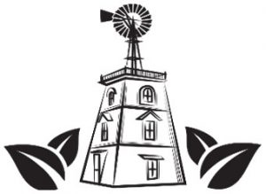 Gray Farm Greenhouses - old windmill